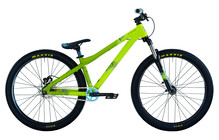 Bergamont Kiez 040 single speed green lime/sky blue matt